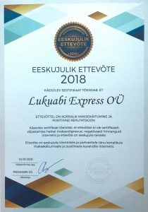LUKUABI EXPRESS - LOCKSMITH SERVICE FOR APARTMENT HOUSES TALLINN